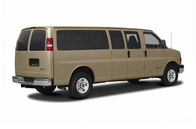 3/4 Rear Glamour  2005 GMC Savana