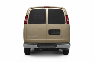 Rear Profile  2005 GMC Savana