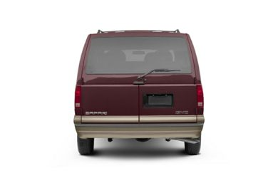 Rear Profile  2005 GMC Safari