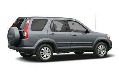 3/4 Rear Glamour  2005 Honda CR-V