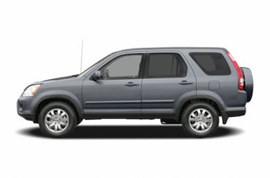 90 Degree Profile 2005 Honda CR-V