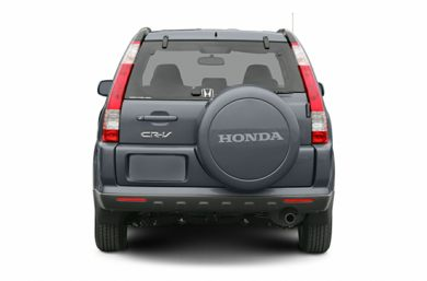 Rear Profile  2005 Honda CR-V