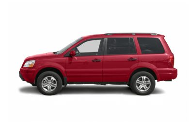 90 Degree Profile 2005 Honda Pilot