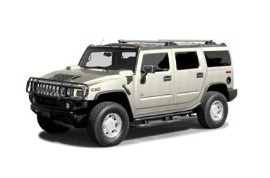3/4 Front Glamour 2005 HUMMER H2 SUV