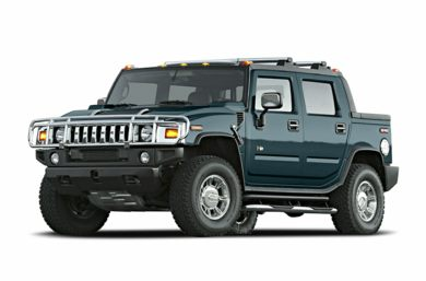 3/4 Front Glamour 2005 HUMMER H2 SUT