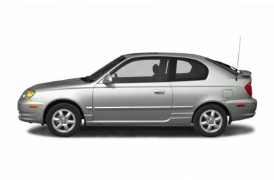 90 Degree Profile 2005 Hyundai Accent