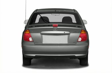 Rear Profile  2005 Hyundai Accent