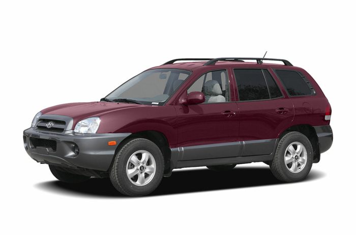 2005 hyundai santa fe specs safety rating mpg carsdirect. Black Bedroom Furniture Sets. Home Design Ideas