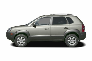 90 Degree Profile 2005 Hyundai Tucson