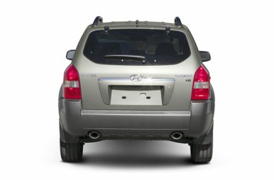Rear Profile  2005 Hyundai Tucson