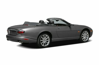 3/4 Rear Glamour  2005 Jaguar XKR