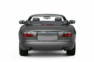 Rear Profile  2005 Jaguar XKR