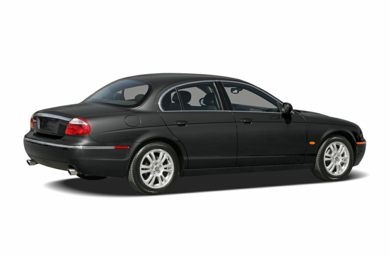 3/4 Rear Glamour  2005 Jaguar S-TYPE