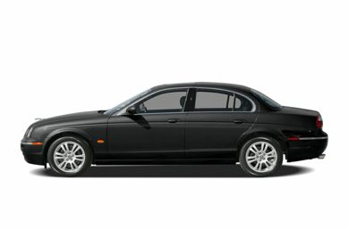 90 Degree Profile 2005 Jaguar S-TYPE