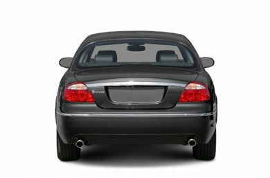 Rear Profile  2005 Jaguar S-TYPE