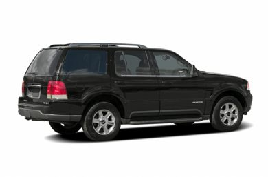 3/4 Rear Glamour  2005 Lincoln Aviator
