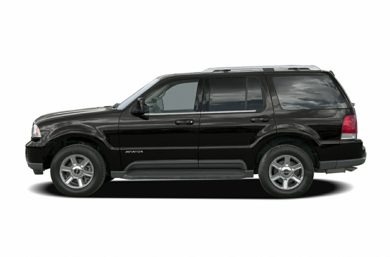 90 Degree Profile 2005 Lincoln Aviator