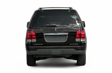 Rear Profile  2005 Lincoln Aviator