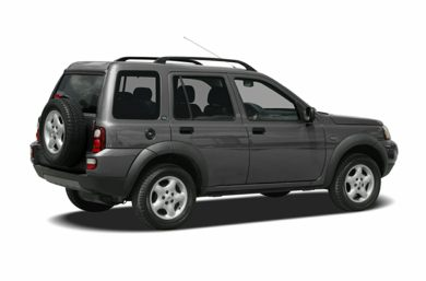 3/4 Rear Glamour  2005 Land Rover Freelander