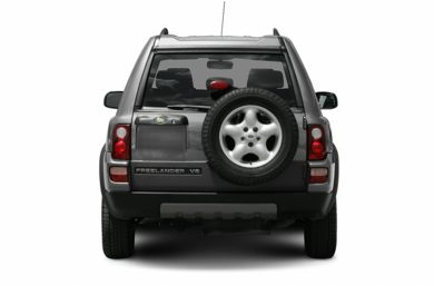 Rear Profile  2005 Land Rover Freelander
