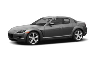 3/4 Front Glamour 2005 Mazda RX-8