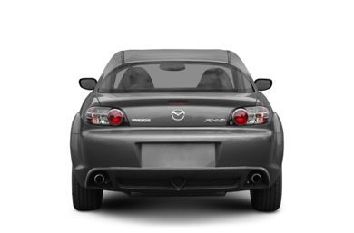Rear Profile  2005 Mazda RX-8