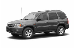 3/4 Front Glamour 2005 Mazda Tribute