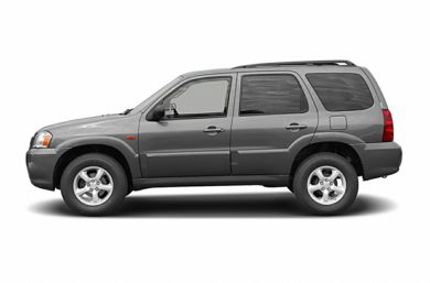 90 Degree Profile 2005 Mazda Tribute