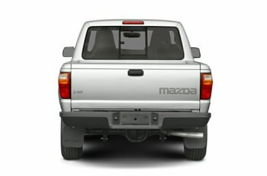 Rear Profile  2005 Mazda B2300