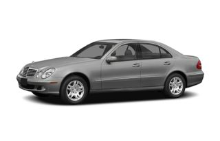 3/4 Front Glamour 2005 Mercedes-Benz E55 AMG