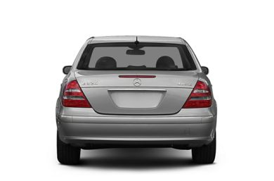 Rear Profile  2005 Mercedes-Benz E500