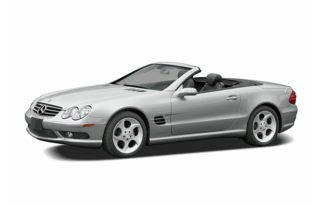 3/4 Front Glamour 2005 Mercedes-Benz SL500