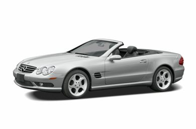 3/4 Front Glamour 2005 Mercedes-Benz SL600