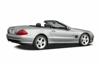 3/4 Rear Glamour  2005 Mercedes-Benz SL600