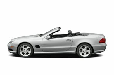 90 Degree Profile 2005 Mercedes-Benz SL500