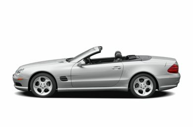 90 Degree Profile 2005 Mercedes-Benz SL600