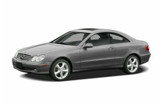 3/4 Front Glamour 2005 Mercedes-Benz CLK500