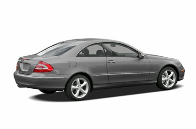 3/4 Rear Glamour  2005 Mercedes-Benz CLK320