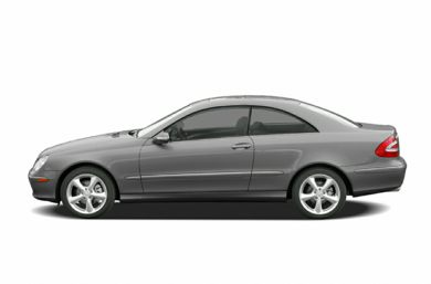 90 Degree Profile 2005 Mercedes-Benz CLK500