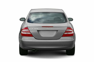 Rear Profile  2005 Mercedes-Benz CLK320