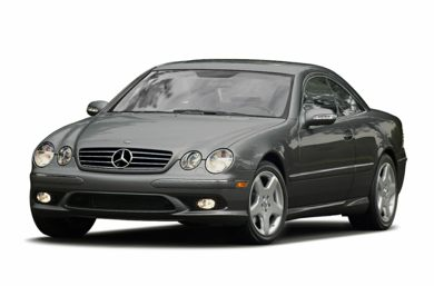 3/4 Front Glamour 2005 Mercedes-Benz CL55 AMG