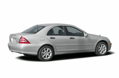 3/4 Rear Glamour  2005 Mercedes-Benz C320