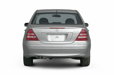Rear Profile  2005 Mercedes-Benz C320