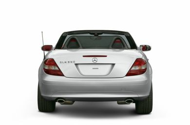 Rear Profile  2005 Mercedes-Benz SLK350