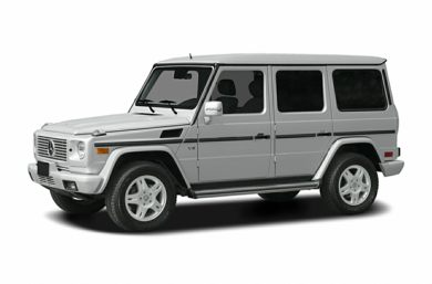 3/4 Front Glamour 2005 Mercedes-Benz G500