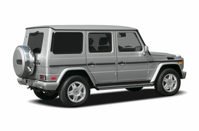 3/4 Rear Glamour  2005 Mercedes-Benz G500