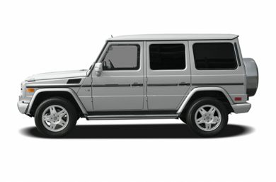 90 Degree Profile 2005 Mercedes-Benz G500