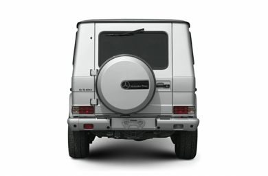 Rear Profile  2005 Mercedes-Benz G500