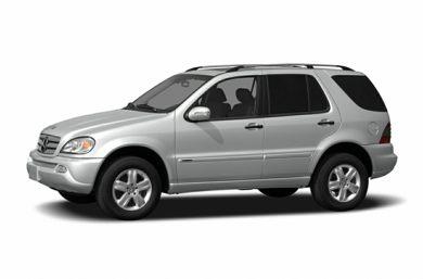 3/4 Front Glamour 2005 Mercedes-Benz ML500