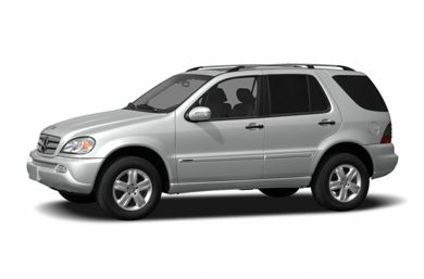 3/4 Front Glamour 2005 Mercedes-Benz ML350